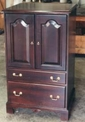 Mahogany chest built to match in all ways  existing bedroom furniture
